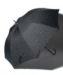 pink trick/BE SUNNY ビーサニー ノーマル長傘 ハートキャッチ (晴雨兼用 UVカット 耐風 軽量 撥水)/500714737