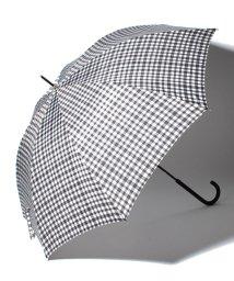 pink trick/BE SUNNY ビーサニー ノーマル長傘 ランダムチェック (晴雨兼用 UV 紫外線カット  耐風 軽量 撥水)/500714738