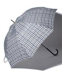 pink trick/BE SUNNY ビーサニー ノーマル長傘 ランダムチェック (晴雨兼用 UV 紫外線カット  耐風 軽量 撥水)/500714739