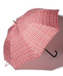 pink trick/BE SUNNY ビーサニー ノーマル長傘 ランダムチェック (晴雨兼用 UV 紫外線カット  耐風 軽量 撥水)/500714740