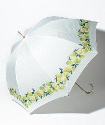 pink trick/BE SUNNY ビーサニー 長傘 【深張り】 レモンストライプ (晴雨兼用 UV 紫外線カット  耐風 軽量 撥水)/500714741