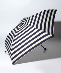 pink trick/BE SUNNY ビーサニー 4段折りたたみ傘 ボーダー (晴雨兼用 UV 紫外線カット  耐風 軽量 撥水 ポーチ付)/500714759