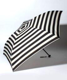 pink trick/BE SUNNY ビーサニー 4段折りたたみ傘 ボーダー (晴雨兼用 UV 紫外線カット  耐風 軽量 撥水 ポーチ付)/500714760