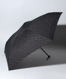 pink trick/BE SUNNY ビーサニー 4段折りたたみ傘 ハートキャッチ (晴雨兼用 UV 紫外線カット  耐風 軽量 撥水)/500714767