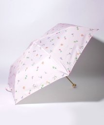 pink trick/BE SUNNY ビーサニー 3段折りたたみ傘  ガーデン (晴雨兼用 UV 紫外線カット  耐風 軽量 撥水)/500714769