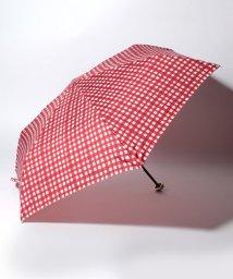 pink trick/BE SUNNY ビーサニー 3段折りたたみ傘  ランダムチェック (晴雨兼用 UV 紫外線カット  耐風 軽量 撥水)/500714776