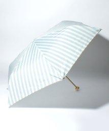 pink trick/BE SUNNY ビーサニー 3段折りたたみ傘  ストライプ (晴雨兼用 UV 紫外線カット  耐風 軽量 撥水)/500714777