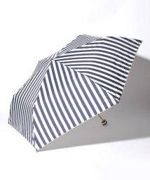 pink trick/BE SUNNY ビーサニー 3段折りたたみ傘  ストライプ (晴雨兼用 UV 紫外線カット  耐風 軽量 撥水)/500714778