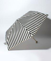 pink trick/BE SUNNY ビーサニー 3段折りたたみ傘  ストライプ (晴雨兼用 UV 紫外線カット  耐風 軽量 撥水)/500714779