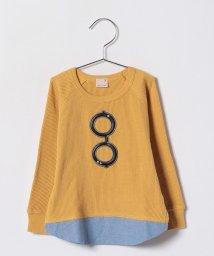 petit main/メガネワッフルレイヤード風Tシャツ/500714876