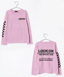 Lovetoxic/バックロゴ1200長Tシャツ/500714914