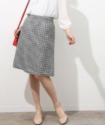 ViS/【セットアップ対応】ツイード台形スカート/500729141