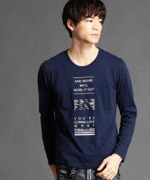 HIDEAWAYS NICOLE/ロゴプリントTシャツ/500715980