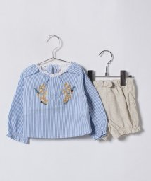 petit main/花刺しゅうブラウス×ブルマセット/500720784