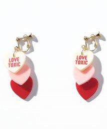 Lovetoxic/ハート3連イヤリング/500720792
