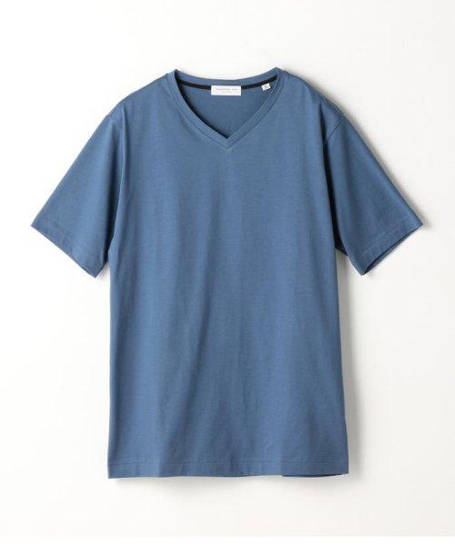 TOMORROWLAND MENS(TOMORROWLAND MENS)/スヴィンジャージー VネックTシャツ/63118211101