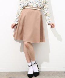 ViS/【SET】合皮ベルト付きフレアスカート/500729136