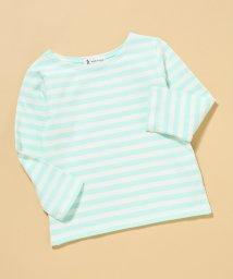 ROPE' PICNIC KIDS/【ROPE' PICNIC KIDS】天竺ボーダーバスクTシャツ/500729193