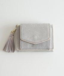 haco!/Legato Largo ピッグスエード 三つ折りミニ財布/500733213