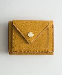 haco!/Legato Largo ロゴ刻印カシメ メール型三つ折りミニ財布/500733214
