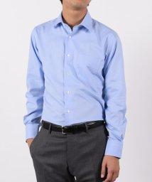 SHIPS JET BLUE/SHIPS JET BLUE: T/C セミワイドカラードレスシャツ/500733894