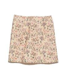 Lily Brown/フラワー刺繍スカート/500735132