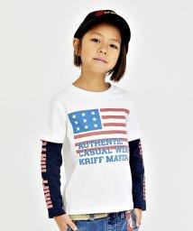KRIFF MAYER(Kids)/フェイクレイヤードロンTEE(140〜160cm)/500723194