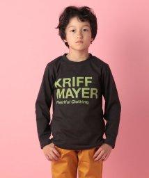 KRIFF MAYER(Kids)/ブランドロゴロンTEE(110〜130cm)/500723199
