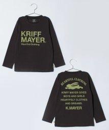 KRIFF MAYER(Kids)/ブランドロゴロンTEE(140〜160cm)/500723200