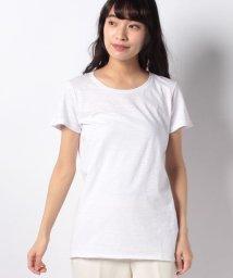SISLEY/コットンモダールラウンドネック半袖Tシャツ・カットソー/500723492