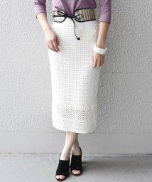 SHIPS WOMEN/Prefer SHIPS: かぎ編みスカート/500735760