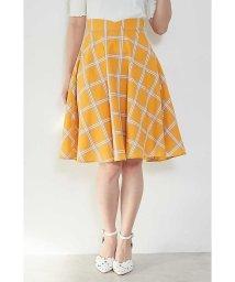 PROPORTION BODY DRESSING/◆シアーチェックフレアースカート/500736001