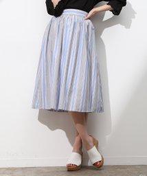 ViS/【sweet4月号掲載】ツイルストライプギャザースカート/500736134