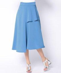Viaggio Blu/イレギュラーヘムフレアカラースカート/500719625