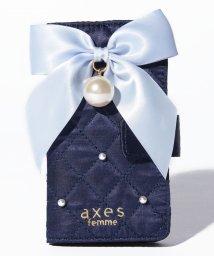 axes femme/キルティングリボン携帯ケース/500722432