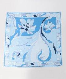 NIJYUSANKU/Geometric Flower Print スカーフ/500737377