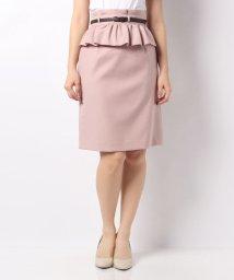 Apuweiser-riche/2WAYベルト付カラータイトスカート/10266259N