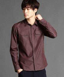 HIDEAWAYS NICOLE/シャンブレーツイルシャツ/500715977