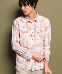 KRIFF MAYER/マドラスチェックシャツ/500723185
