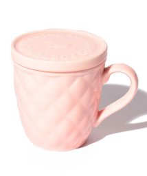 Afternoon Tea LIVING/ハッピーモチーフ蓋付きマグカップ/500724012