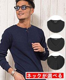 CavariA/CavariA【キャバリア】3タイプから選べるサーマル 無地 長袖 Tシャツ/500738798