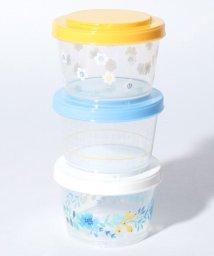 Afternoon Tea LIVING/フラワー柄3段カップ型容器/500723931