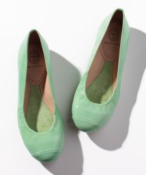INTER-CHAUSSURES IMPORT/【REVE D'UN JOUR】ドレープ調エナメルバレエシューズ/500725261