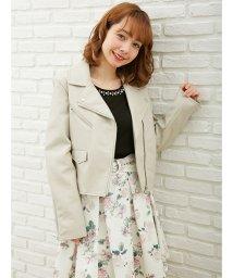 INGNI/【春の新作】ライダースジャケット/500732355