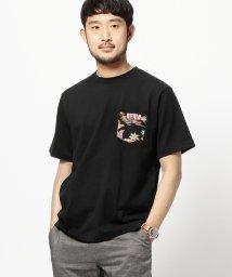 BEAMS MEN/BEAMS / アロハ ポケット Tシャツ/500740887
