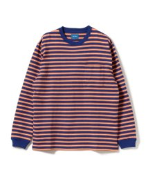 BEAMS OUTLET/BEAMS / ボーダーポケット Tシャツ/500741143