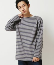 BEAMS OUTLET/ORCIVAL × BEAMS / 別注 Used加工 バスクシャツ/500741146