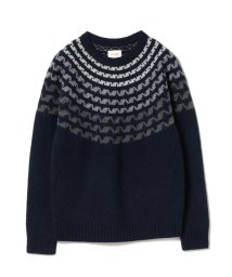 BEAMS OUTLET/BEAMS / グラデーションニット/500741149