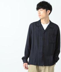 BEAMS OUTLET/BEAMS / レーヨン オープンカラーシャツ/500741227