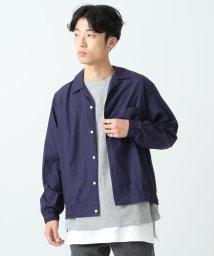 BEAMS OUTLET/BEAMS / オープンカラー シャーリングシャツ/500741231